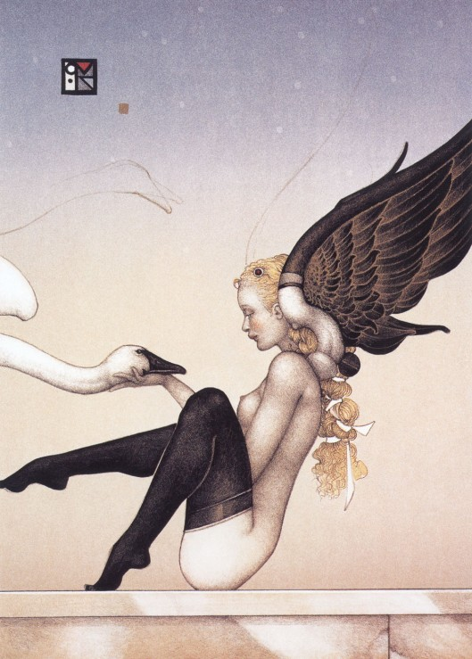 Michael_Parkes_almost_fallen_angels2