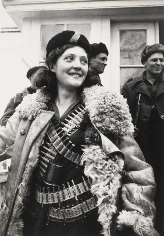 Arkady Shaikhet, 1942, Partisan Girl