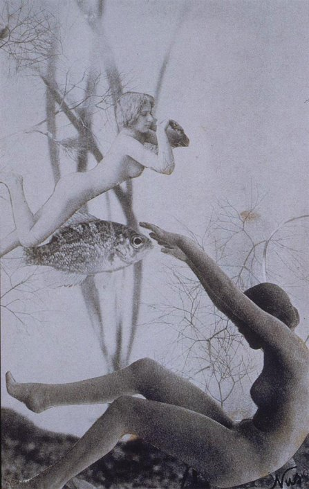 Nusch Eluard untitled photocollage 1936