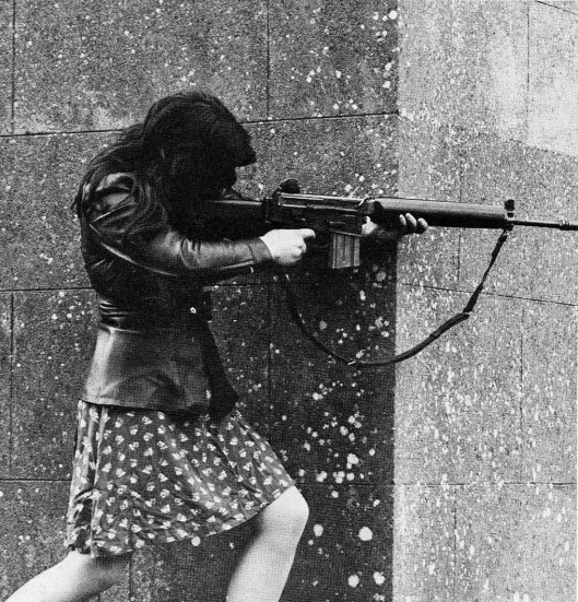 Female IRA fighter, 1970s