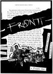 Franti - dettaglio della copertina di Luna nera (Lp, 1985)