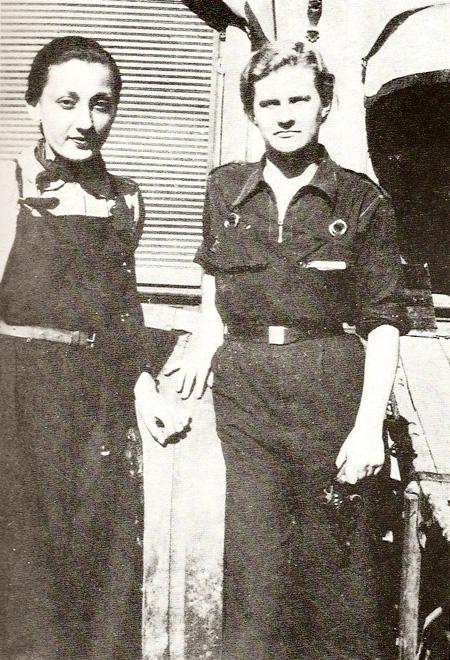Olga-Loeillet-e-Mary-Low-Barcellona-1936